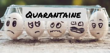 La quarantaine, entre angoisse et consentement