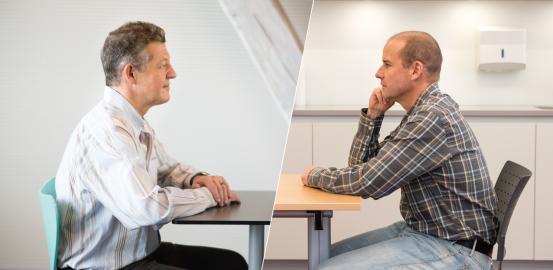 Laurent Holzer et Yves Dorogi collaborent pour aider les patients souffrant de troubles alimentaires.