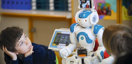 Un robot en gardien du lien