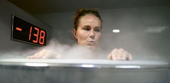 Cryothérapie: la récup' à froid