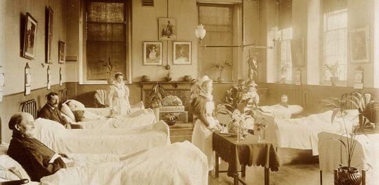 Petite histoire des visites à l'hôpital