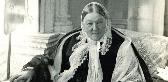 Florence Nightingale, a pioneer in data management